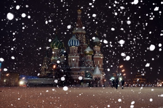 Red Square In Moscow Background for Android, iPhone and iPad