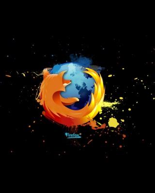 Firefox Logo - Obrázkek zdarma pro iPhone 6 Plus