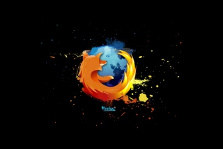 Firefox Logo Background for Android, iPhone and iPad