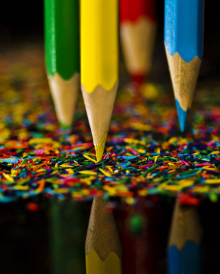 Colored Pencils - Obrázkek zdarma pro Nokia X2-02