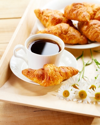 Breakfast with Croissants - Obrázkek zdarma pro Nokia Asha 300