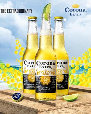 La Cerveza Corona - Obrázkek zdarma pro Nokia 300 Asha