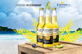 La Cerveza Corona - Obrázkek zdarma pro Samsung P1000 Galaxy Tab