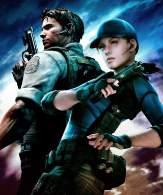 Resident Evil 5 - Obrázkek zdarma pro Nokia X1-00