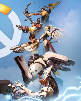 Overwatch Shooter Game - Obrázkek zdarma pro Nokia X2-02