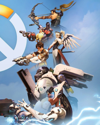 Overwatch Shooter Game - Obrázkek zdarma pro iPhone 4S