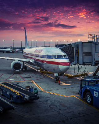 American Airlines Boeing - Obrázkek zdarma pro Nokia Lumia 505