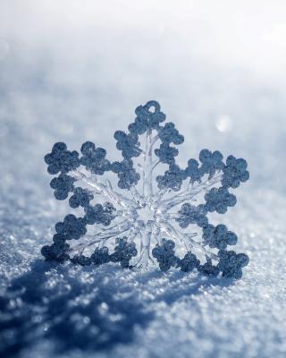 Snowflake Macro HD - Obrázkek zdarma pro Nokia Lumia 710