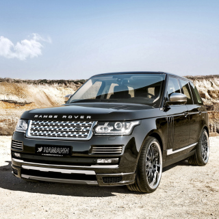 Land Rover Range Rover Black - Obrázkek zdarma pro iPad mini 2