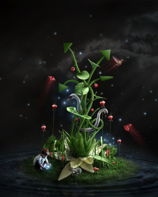 Photosynthesis - Obrázkek zdarma pro 240x400