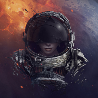 Women in Space - Obrázkek zdarma pro iPad mini