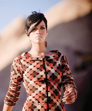 Stylish Rihanna - Obrázkek zdarma pro Nokia X1-00