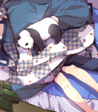 Sleeping Panda - Obrázkek zdarma pro Nokia X7