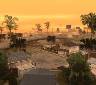 Los Santos - San Andreas - Obrázkek zdarma pro iPad Air