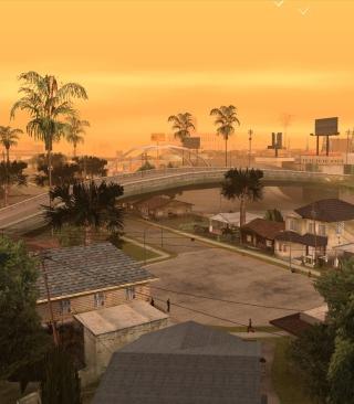 Los Santos - San Andreas - Obrázkek zdarma pro Nokia Asha 305