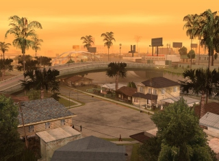 Los Santos - San Andreas Picture for Android, iPhone and iPad