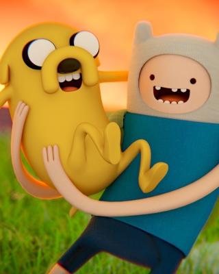 Adventure time   Cartoon network - Fondos de pantalla gratis para Nokia C2-02