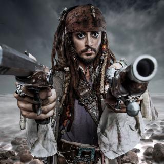 Jack Sparrow - Obrázkek zdarma pro iPad 2