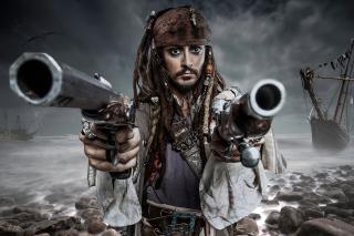 Jack Sparrow - Obrázkek zdarma pro HTC Wildfire