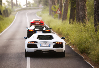 Lamborghini Cars Background for Android, iPhone and iPad