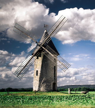Windmill - Obrázkek zdarma pro Nokia Asha 310