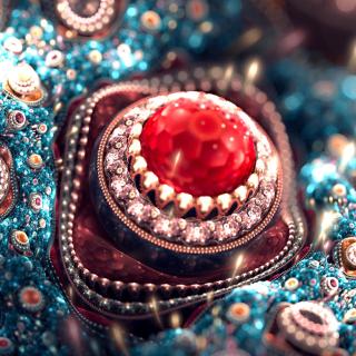 Gem and Jewellery - Obrázkek zdarma pro iPad 3