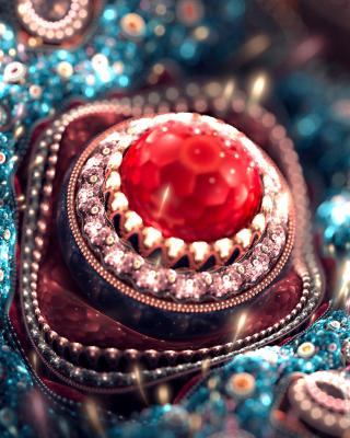 Gem and Jewellery - Obrázkek zdarma pro 128x160