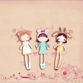 Cherished Friends Dolls - Obrázkek zdarma pro iPad Air