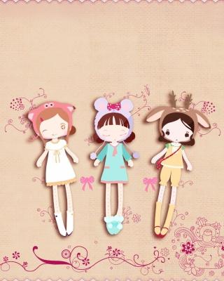 Cherished Friends Dolls - Obrázkek zdarma pro Nokia C-Series