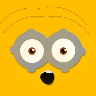 Minion Eyes - Obrázkek zdarma pro 1024x1024