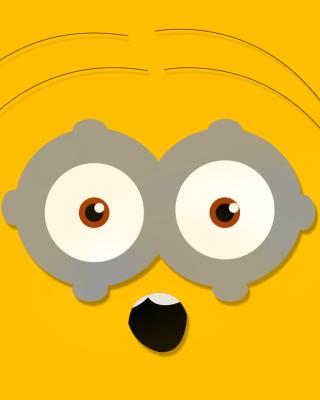 Minion Eyes - Obrázkek zdarma pro Nokia Asha 308