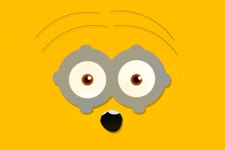 Minion Eyes - Obrázkek zdarma pro Fullscreen Desktop 800x600