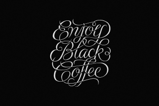 Enjoy Black Coffee Picture for Android, iPhone and iPad