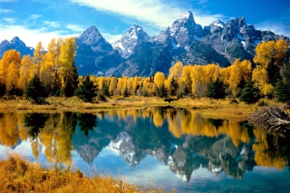 Grand Teton National Park, Wyoming Background for Android, iPhone and iPad