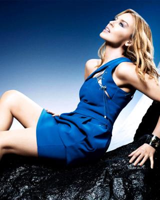 Kylie Minogue - Obrázkek zdarma pro Nokia Asha 202