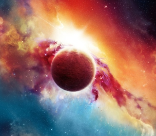 Space And Planet - Obrázkek zdarma pro 2048x2048