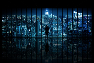 Free Gotham City Picture for Android, iPhone and iPad