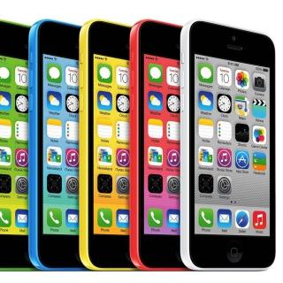Apple iPhone 5c iOS 7 - Obrázkek zdarma pro 1024x1024