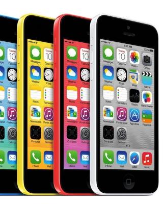 Apple iPhone 5c iOS 7 - Obrázkek zdarma pro Nokia Asha 300