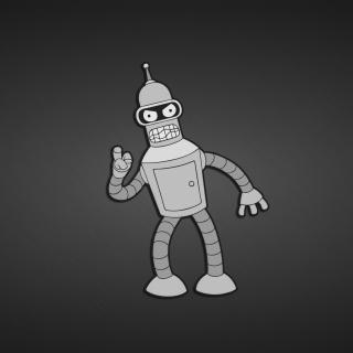 Futurama, Bender - Obrázkek zdarma pro iPad