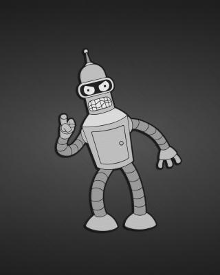 Futurama, Bender - Obrázkek zdarma pro Nokia Asha 300
