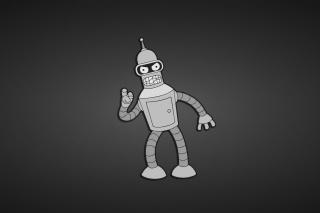 Futurama, Bender - Obrázkek zdarma pro Samsung Galaxy Tab 4G LTE