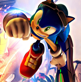 Sonic Free Riders - Obrázkek zdarma pro iPad