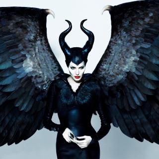 Angelina Jolie Maleficent - Obrázkek zdarma pro iPad mini 2