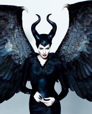Angelina Jolie Maleficent - Obrázkek zdarma pro 360x480