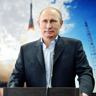 Vladimir Vladimirovich Putin - Obrázkek zdarma pro 320x320