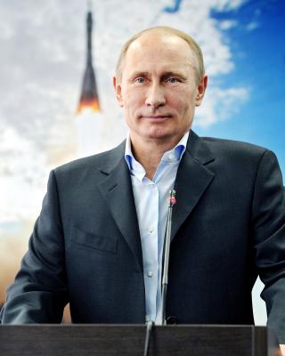 Vladimir Vladimirovich Putin - Obrázkek zdarma pro 240x432