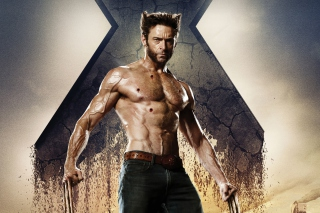 Wolverine In X Men Days Of Future Past - Obrázkek zdarma pro Motorola DROID
