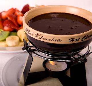 Fondue Cup of Hot Chocolate - Obrázkek zdarma pro iPad mini 2