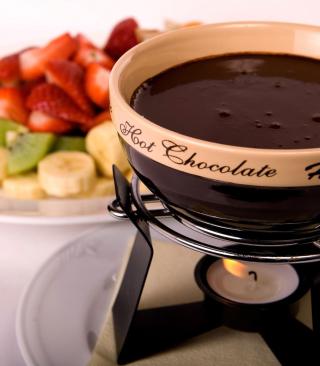 Fondue Cup of Hot Chocolate - Obrázkek zdarma pro Nokia X3